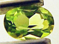 4×6 mm TOP COLOR OVAL CUT NATURAL GREEN PERIDOT #R220