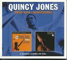 QUINCY JONES BOSSA NOVA / QUINTESSENCE - 2 CD BOX SET