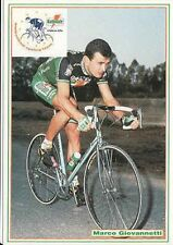 MARCO GIOVANNETTI Cyclisme Cycling Ciclismo GATORADE 92