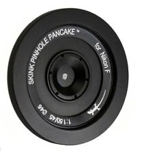 Skink Pinhole Pancake Pro Lens Kit modular, swap pinholes - Nikon D7200 D5200 D5