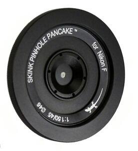 Skink Pinhole Pancake Starter Lens Kit modular Nikon D6 D850 D5 D7500 D3 D5