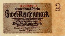Nazi Germany 2 Rentenmark 1937 D00669995