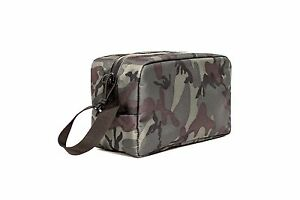 ABSCENT Smell Proof Toiletry Bag Odor Proof Odorless Lockable Stash Bag - Camo