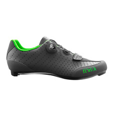 Fizik R3 Uomo BOA Carbon Men's Road Shoes Anthracite/Green 45 *Damaged Packaging