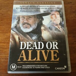 Dead or Alive DVD R4 Like New! FREE POST