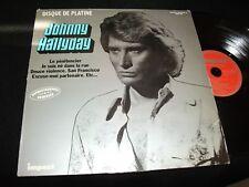 JOHNNY HALLYDAY<>DISQUE DE PLATINE<>Lp Vinyl~France Pressing<>IMPACT 6886 104