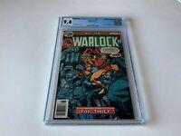 WARLOCK 13 CGC 9.4 WHITE PAGES 1ST STAR THIEF JIM STARLIN MARVEL COMICS 1976