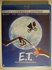 E.T. The Extra-Terrestrial (Blu-ray/DVD, 2012, 2-Disc Set (NEW)