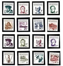 MICRONESIA Sc 5-20 NH ISSUE OF 1984 - HISTORY OF ISLAND