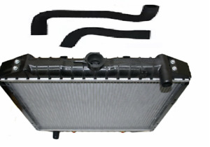 LTI TAXI FAIRWAY DRIVER RADIATOR WITH BOTH TOP AND BOTTOM WATER HOSES