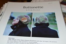 Woolly Wormhead Hat Knitting Pattern Buttonette