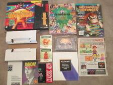 Earthbound (Super Nintendo SNES) Complete CIB w/ Magazine + 2 Inserts, 2 Cards