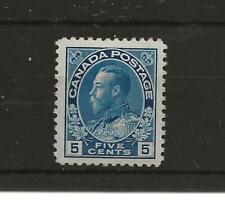 Canada 1912 GV 5c SG 2056  m/m c£70