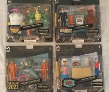 Palisades Adult Swim set of 4 MASTER SHAKE HARVEY BIRDMAN BRAK SHOW SEALAB 2021