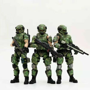 1/18th JOYTOY Russian Camouflage Team Force PVC Soldier Action Figure 81911021