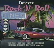 FOREVER ROCK 'N' ROLL - FATS DOMINO CHUCK BERRY GENE VINCENT - 3 CDS - NEW!!