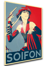 Poster Propaganda - Bleach - Soifon LL0390