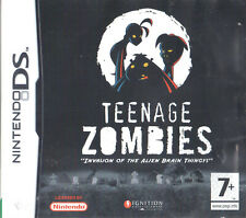 Teenage Zombies: Invasion of the Alien Brain Thingys! Nintendo DS 7+ Action Game