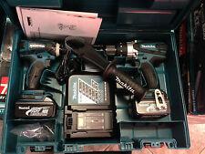 Makita 18V 3.0AH Li-ion LXT Cordless Combo Kit 2pc impact driver , hammer drill