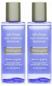 Neutrogena oil free eye makeup remover 3.8 fl oz NEW LOT OF 2