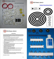 1984 Williams Space Shuttle Pinball Tune-up Kit - Includes Rubber Ring Kit