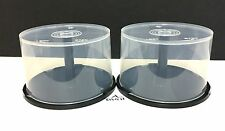 Empty Spindle Cake Box Holds 50 CDs, DVDs or Blu-ray Lot of 2 - 50 Pack New