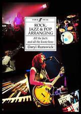 Rck, Jazz and Pop arranging - Daryl Runswick