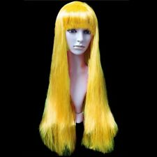 Long Straight Cosplay Wig Women Heat Resistant Full Wigs Halloween Party #zh