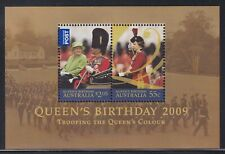 Australia Sg Ms3187 Scott 3068b Xf Mnh 2009 Queen's Birthday Mini-Sheet