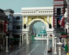 LEGO Modular Triumphal Arch MOC instructions 10182 10190 10185 10197 10211