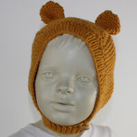 PRINTED KNITTING INSTRUCTIONS -  BABY & TODDLER TEDDY EARS HAT KNITTING PATTERN