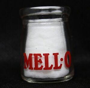 Vintage MELL-O Pyro Glass Mini Creamer. 1/2 Ounce