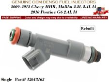 1 Fuel Injector OEM DENSO for 2009-2011 Chevrolet HHR 2.2L 2.4L I4