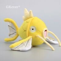 Shiny Gold Magikarp Koiking 8inch 20cm Anime Stuffed Plush Toy Soft Doll Teddy