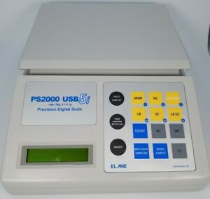 Elane USB5i Electronic Counting and Weighing USB Scale PS2000 5kg x 0.1g