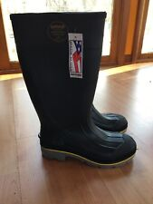 Servus Safety Toe Rubber Boot ASTM F2413-11  A+ Traction MI/75 C/75 EH U.S.A