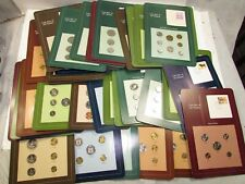Coin Sets of All Nations Lot of 50 Cards + China