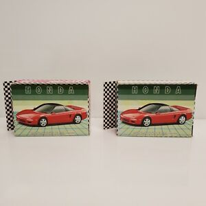 FX Schmid Honda NS-X Coupe 54 Piece Mini Puzzle Lot Of 2 Red Acura HTF