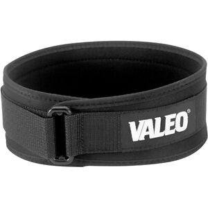 "Valeo 6"" Performance Low Profile Weight Lifting Belt"