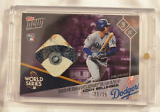 2017 Topps Now Base Relic Card #838C Cody Bellinger Los Angeles Dodgers 20/25