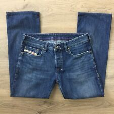 Diesel Zathan Straight Size 29 Men's Jeans Actual W32 L26.5 Hemmed R9.5 (BU3)