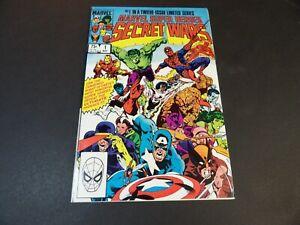 Secret Wars #1 - Marvel May 1984 - Mid Grade (FN-)