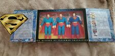 """Superman """"The History of Superman"""" Collection Kenner FAO Schwarz Exclusive 1996"""