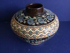 Stunning Swiss Thoune Vase