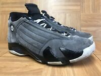 aaade89a337b11 RARE🔥 Nike Air Jordan 14 XIV Retro Light Graphite Black Navy 311832-011 Sz