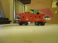 LIONEL  6357 LIGHTED CABOOSE COMPLETE EXCELLENT CONDITION