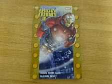 Rare Copy Of Ultimate Iron Man Ii Trade Paperback Graphic Novel! Marvel!