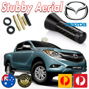 Antenna / Aerial Stubby Bee Sting for Mazda BT50 BT-50 2011-2020 Black Carbon