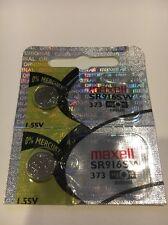 Maxell SR916SW 373 Watch Battery 2 Pcs SR916SW 373 Battery