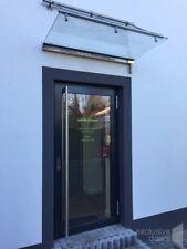 Aluminium triple glazing door, white LONG STAINLESS STEEL HANDRAIL